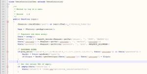 Добавляем в контроллер joomla код проверки на email