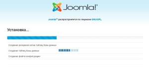 Процесс установки Joomla на компьютер